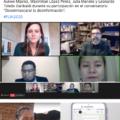 """Conversatorio """"Desenmascarar la desinformación""""."""