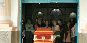 La palabra de las exinsurgentas, muchas de ellas con familias que se exiliaron en campamentos de Chiapas. Foto: Fredy Martín Pérez