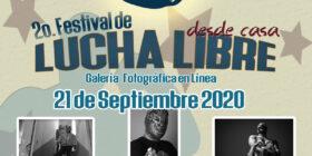 Con cine, entrevistas y una galería; inicia el 2o. Festival de Lucha Libre 2020