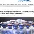 Vacuna rusa contra la COVID-19 presenta buenos resultados