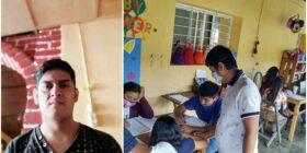 Tras viralizarse por apoyar a niños y niñas para continuar con su ciclo escolar; Marcos en incertidumbre para llegar a ser maestro
