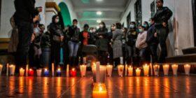 Este sábado desde Comitán, mujeres se reunieron para exigir justicia por Nayeli y todas las mujeres que han sido asesinadas en Chiapas.  Foto: Hugo Nandayapa.