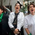 """""""Estamos del lado de las mujeres y la justicia"""""""