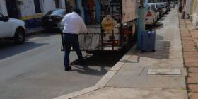 Por adeudos del ISSSTE, empresa quita tanque de oxígeno a derechohabiente