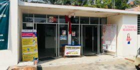 Trabajadores del Hospìtal y la Jurisdicción Sanitaria de Villaflores en paro