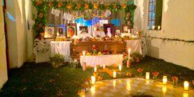 Tradicional altar zoque. Cortesía: Gustavo Caballero