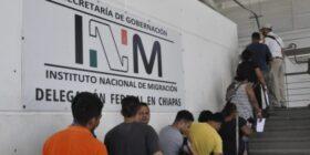Estación Migratoria «Siglo XXI» ubicada en Tapachula. Cortesía: Gaby Coutiño.