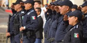 Elementos de la policía municipal de Comitán de Domínguez. Cortesía: Gobierno Comitán.