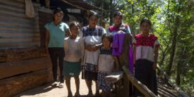 Denuncian que en Chiapas hay muchos grupos de desplazados por la violencia y represión del Estado y por grupos paramilitares. Cortesía: Danny Alveal Aravena de Ruta 32/febrero 2018.Denuncian que en Chiapas hay muchos grupos de desplazados por la violencia y represión del Estado y por grupos paramilitares. Cortesía: Danny Alveal Aravena de Ruta 32/febrero 2018.