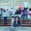 El zócalo de Tixtla se llenó de indignación por el asesinato de Ayelín. Integrantes de colectivas feministas, normalistas de Ayotzinapa y habitantes de ese municipio, protestaron para exigir justicia. Fotografía: Amapola Periodismo.