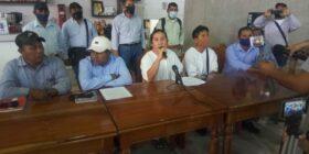 Chan Kin Kinbor Chambor, vocero de las Autoridades de los Bienes Comunales Zona Lacandona. Foto: Yessica Morales.