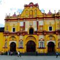 Iglesia de Santo Domingo, también llamada Templo de la Caridad, es una de las máximas expresiones del barroco chiapaneco.Cortesía Vive San Cristóbal.