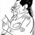 Juan David Posada, Caricatura de Félix B. Caignet (1949).