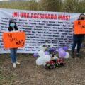 Rinden honor a víctimas de Feminicidio. Foto: Yessica Morales