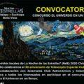 Bases de las convocatorias: Pintura y maqueta o modelo inspirado en Telescopio Espacial Hubble. Cortesía: Noche de las Estrellas Cintalapa.