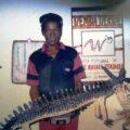 Rafael Zerquera, Tiembla Tierra. Exposición personal, Salón de la ACCA, 2001