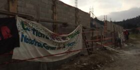 Mandaron un mensaje a la sociedad civil de la importancia de defender el agua y las áreas naturales protegidas de la ciudad.. Foto: Cortesía.