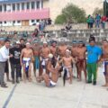 Chiapas obtuvo el tercer lugar en el juego de pelota de cadera Ulama Foto: Cortesía.