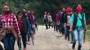Las mujeres zapatistas que formarán parte de la tripulación