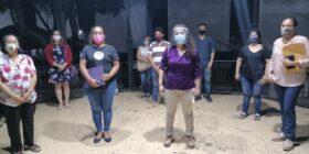 Rescatistas, protectores y protectoras de animales, dieron una conferencia de prensa. Foto: Yessica Morales.
