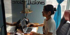 Thalía Aquino, una de las tres chiapanecas que aparecen en la tercera edición del mapa Mujeres en TIC2021. Foto: Thalía Aquino.