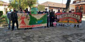 Ciudadanos y la Red Ambiental del Valle de Jovel invitaron a la Jornada en Defensa del Agua, los Humedales, la Vida y la Paz. Foto: Cortesía.