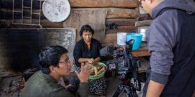 """Producción del largometraje """"Mamá"""" del Director Juan Antonio Méndez Rodríguez (Xun Sero). Cortesía: Xun Sero."""