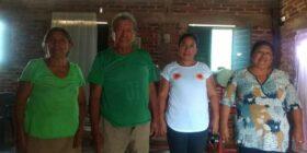 Don Fernando y su familia.