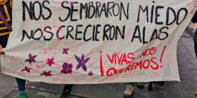 Ilustración 1. Marcha del 8M de 2020, San Cristóbal de las Casas, Chiapas.