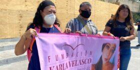 Inicia en Chiapas la caravana nacional por la impunidad de feminicidios. Foto: Andrés Domínguez.