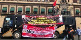 Maestros cruzan cinco estados para pedir diálogo con AMLO