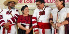 No se puede concebir la reconstrucción de la patria sin la voz de los pueblos indígenas, quienes dieron vida y origen a este país: Adelfo Regino. Cortesía: Gobierno de México