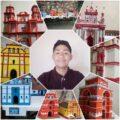 Juan Santíz, el adolescente que vende sus maquetas en San Cristóbal de las Casas