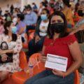 Campaña de vacunación magisterial Foto: IMSS