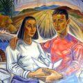 Mural: Héctor Ventura. Foto: Linda Esquinca