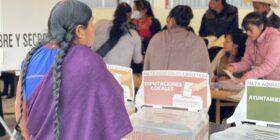 Elecciones 2021 en Chiapas. Foto: Ángeles Mariscal