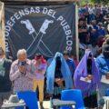 """""""Nuestra lucha no es política, sino por la vida"""", pueblo de Pantelhó. Foto: Ángeles Mariscal"""