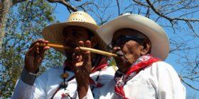 La flauta de carrizo es un instrumento muy usado en la música y danzas tradicionales en todo el Estado de Chiapas. Cortesía: Pepe Espinosa/ Facebook