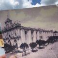 Vista panorámica de la Catedral, ubicado entre la calle Guadalupe Victoria y calle 5 de  Febrero. Cortesía: Edvin Choc Monroy