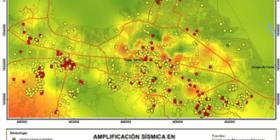 Localización de daños del sismo del 7 de septiembre de 2017 (puntos amarillos daños parciales y puntos rojos daños totales).