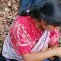Al no tener las mujeres la titularidad de la tierra, pueden ser fácilmente despojadas ya que esta no se considera patrimonio familiar, sino propiedad del hombre – Foto: CDH Frayba
