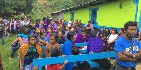 Indígenas de Pantelhó regresan a su municipio. Foto: Cortesía