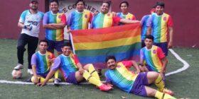 Equipo de futbol LGBT. - Foto: Liga de futbol Herradura/ Facebook