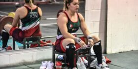 Aremi Fuentes Zavala. Cortesía: Comité Olímpico Mexicano