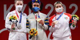 Aremi Fuentes debutó en unos Juegos Olímpicos en Tokyo 2020. Cortesía: Olímpicos marca claro