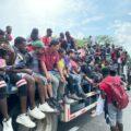 Migrantes se enfrentan ante un sistema migratorio colapsado. Foto: Ángeles Mariscal