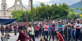 Pobladores de Pantelhó esperan respuesta y hechos por parte del Estado mexicano. Foto: Ángeles Mariscal