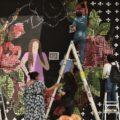 Trazos contra el olvido: un mural para Elizabeth y Tadeo víctimas del terrorismo de Estado