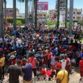 Miles de migrantes esperan salir de Tapachula. Foto: Benjamín Alfaro