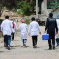 """""""Casa por Casa y Negocio por Negocio"""", operativo de vacunación enfocado a la aplicación de primeras dosis. - Foto: Secretaría de Salud de Chiapas"""